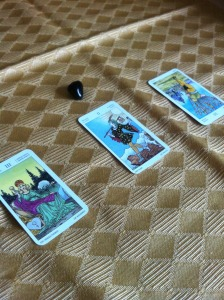 3 card tarot reading Amber Witch