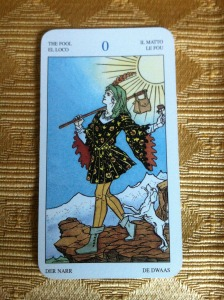 the fool tarot reading Amber Witch