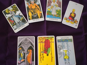 Tarot Reading in two realms
